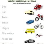 Smart Kids Worksheets: Transportation